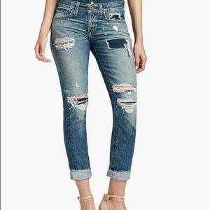 NWT Lucky Brand Sienna Slim Boyfriend Jeans